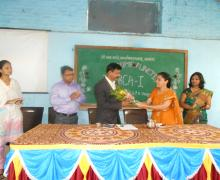 Smt. Sawant Welcome To Principal