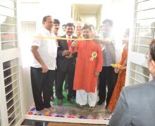 Inauguration Of Library By Auspicious Hands Of Hon. Dr. Achyut Godbole & Cabinet Minister Hon.Hasanso Mushrif