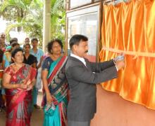 Prin. Dr. Praveen Chougale - Inauguration Of Wallpaper