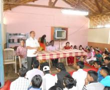 Shri. Babu Salunkhe (OS-Destitute Children Home) Introducing On The Occasion Of Raksha Bandhan